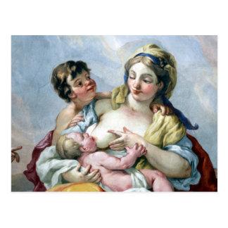 fresco family postcard