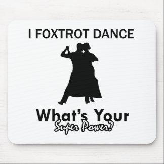 Fresco Foxtrot los diseños de la danza Mouse Pads