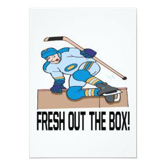 """Fresco hacia fuera la caja invitación 5"""" x 7"""""""