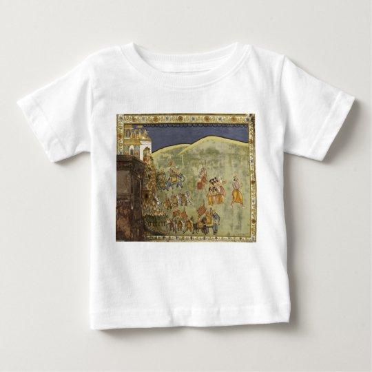 Fresco Mehrangarh Fort Jodhpur Rajasthan India 3 Baby T-Shirt