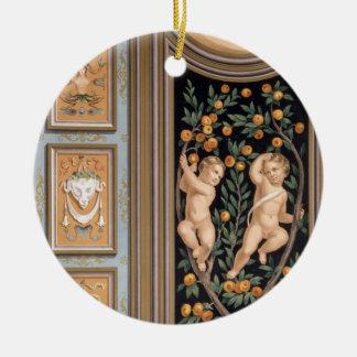 Fresco of Cupids from the Church of St. Ambroglio, Ceramic Ornament