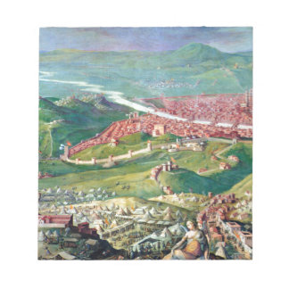 Fresco of the 1530 Siege of Florence by Giorgio Notepad