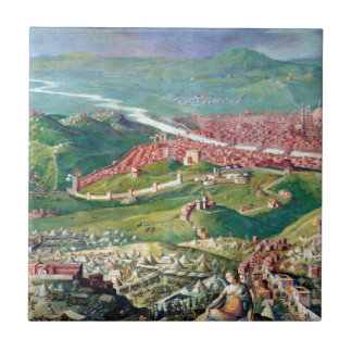 Fresco of the 1530 Siege of Florence by Giorgio Tile