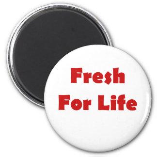 Fresco para vivo imanes para frigoríficos