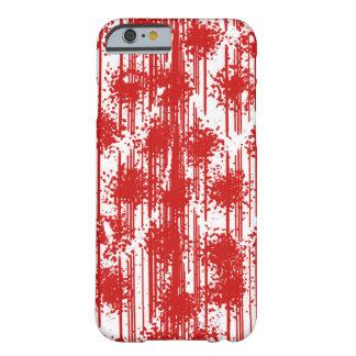 Fresco rojo sangre funda de iPhone 6 barely there