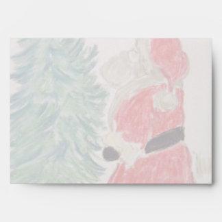 Fresco Santa Envelope