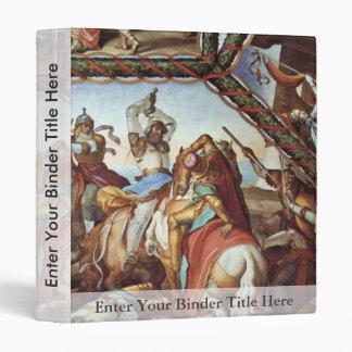 Frescoes At Casa Massimo In Rome Ariosto Hall Vaul Vinyl Binders
