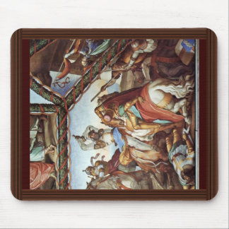 Frescoes At Casa Massimo In Rome Ariosto Hall Vaul Mouse Pad