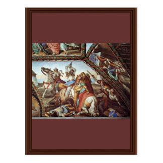 Frescoes At Casa Massimo In Rome Ariosto Hall Vaul Postcard
