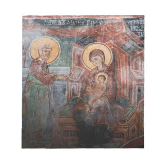 Frescoes from the 14th Century Serbian Church, 2 Notepad