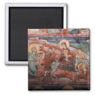 Frescoes from the 14th Century Serbian Church, Magnet