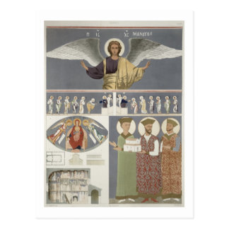 Frescoes from the Orthodox Church of Nekrssi near Post Card
