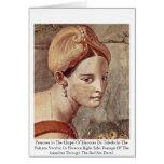 Frescoes In The Chapel Of Eleonora Da Toledo Greeting Cards