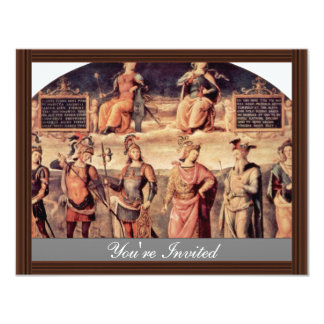 Frescoes In The Sala D'Udienza The Collegio Del Ca Personalized Announcement