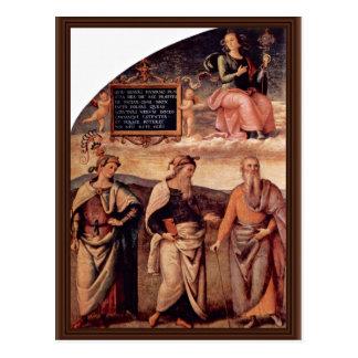 Frescoes In The Sala D'Udienza The Collegio Del Ca Post Cards