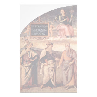 Frescoes In The Sala D'Udienza The Collegio Del Ca Personalized Stationery