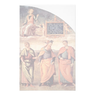 Frescoes In The Sala D'Udienza The Collegio Personalized Stationery