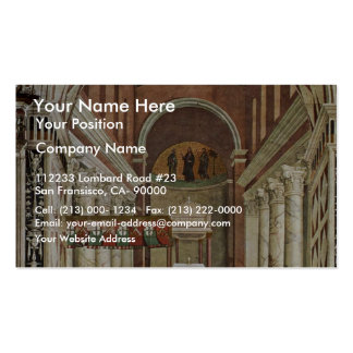 Frescoes On The Life And Deeds Of Enea Silvio Double-Sided Standard Business Cards (Pack Of 100)