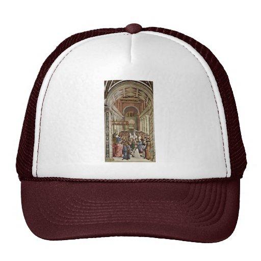 Frescoes On The Life And Deeds Of Enea Silvio Hat