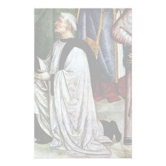 Frescoes On The Life And Deeds Of Enea Silvio Customized Stationery