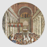 Frescoes On The Life And Deeds Of Enea Silvio Sticker