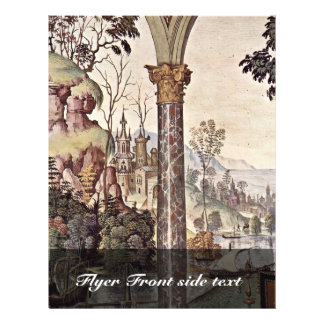 Frescoes On The Life And Deeds Of The Enea Silvio Custom Flyer