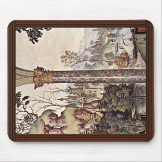 Frescoes On The Life And Deeds Of The Enea Silvio Mouse Pad