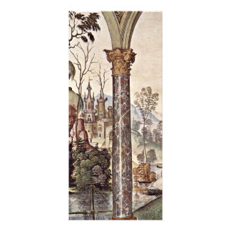 Frescoes On The Life And Deeds Of The Enea Silvio Full Color Rack Card