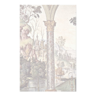 Frescoes On The Life And Deeds Of The Enea Silvio Personalized Stationery
