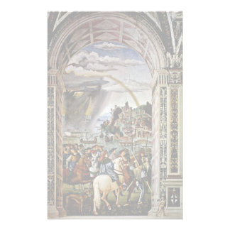 Frescoes On The Life And Deeds Custom Stationery