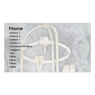 Frescoes On The Life Of St Francis Of Assisi Business Card