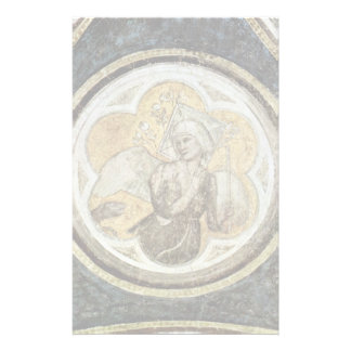 Frescoes With Scenes From The Life Of St. Francis Personalized Stationery
