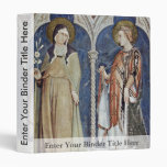 Frescoes With Scenes From The Life Of St. Martin Binders