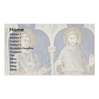 Frescoes With Scenes From The Life Of St Martin Business Cards