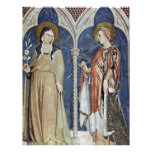 Frescoes With Scenes From The Life Of St. Martin Letterhead Template