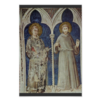 Frescoes With Scenes From The Life Of St. Martin Posters