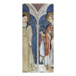Frescoes With Scenes From The Life Of St. Martin Full Color Rack Card