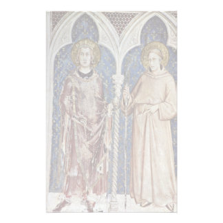 Frescoes With Scenes From The Life Of St. Martin Stationery