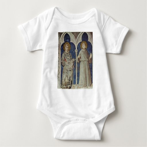 Frescoes With Scenes From The Life Of St. Martin T-shirts