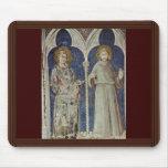 Frescos con escenas a partir de la vida de San Mar Tapete De Raton