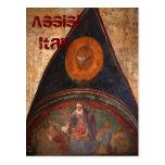 Frescos de Assisi Tarjetas Postales