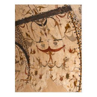 Frescos de la calle de Assisi Italia Postales