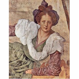 Frescos de la estación en el chalet de Medici en P Escultura Fotográfica