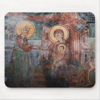 Frescos de la iglesia servia del siglo XIV, 2 Mouse Pad