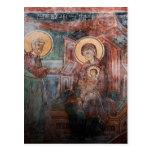 Frescos de la iglesia servia del siglo XIV, 2 Postales