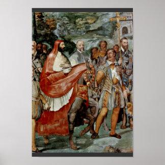 Frescos del chalet Farnese en Caprarola Farne Impresiones