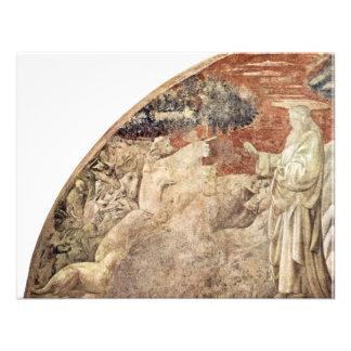 Frescos del viejo testamento en génesis en el clau comunicado personal