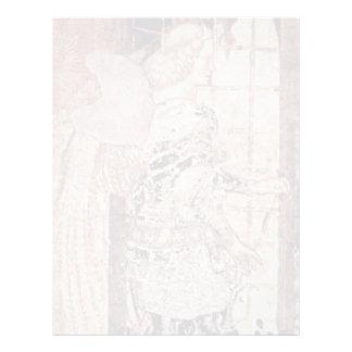 Frescos en el monumento grave del ² de Niccolo Plantilla De Membrete
