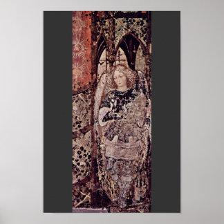 Frescos en el monumento grave del ² de Niccolo Póster
