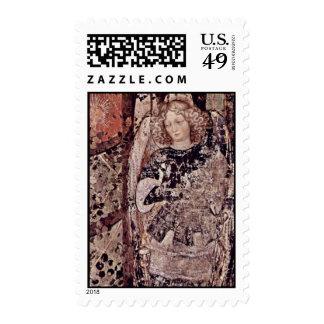 Frescos en el monumento grave del ² de Niccolo Sello Postal